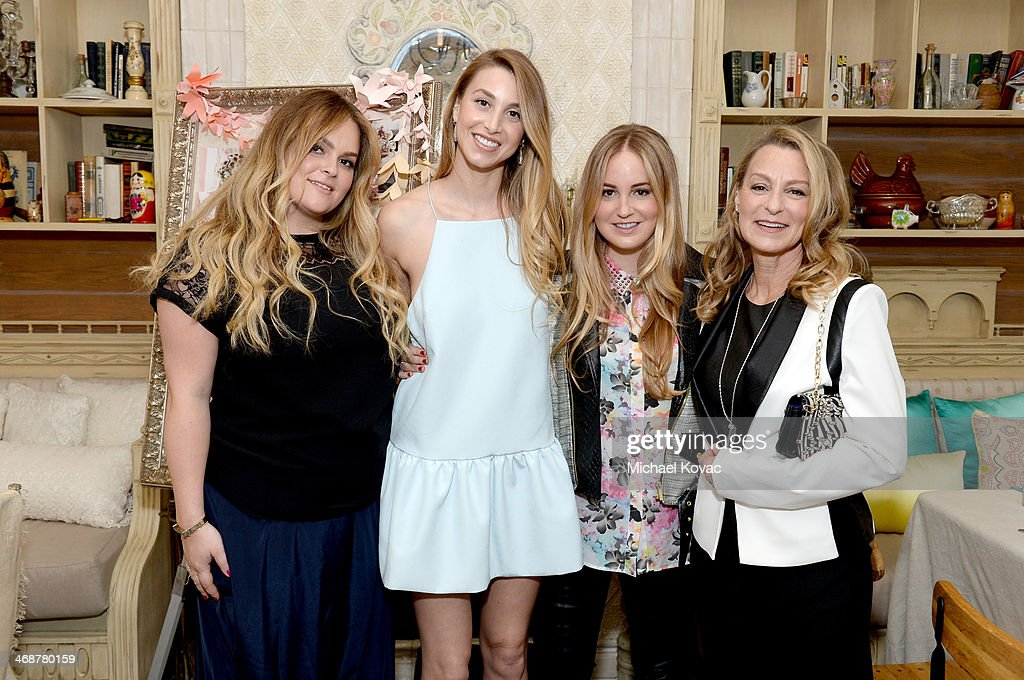 Ashley Port, Whitney Port, Paige Port and Vicki Port attend Wedding Paper Divas Presents 'Whitney Port's Love Story' at Mari Vanna Los Angeles on February 11, 2014 in West Hollywood, California.