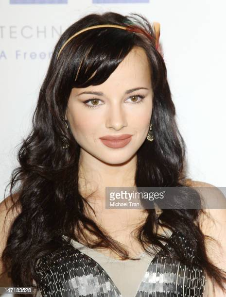 Ashley Rickards arrives at The Thirst Project 3rd Annual Gala held at The Beverly Hilton Hotel on June 26 2012 in Beverly Hills California