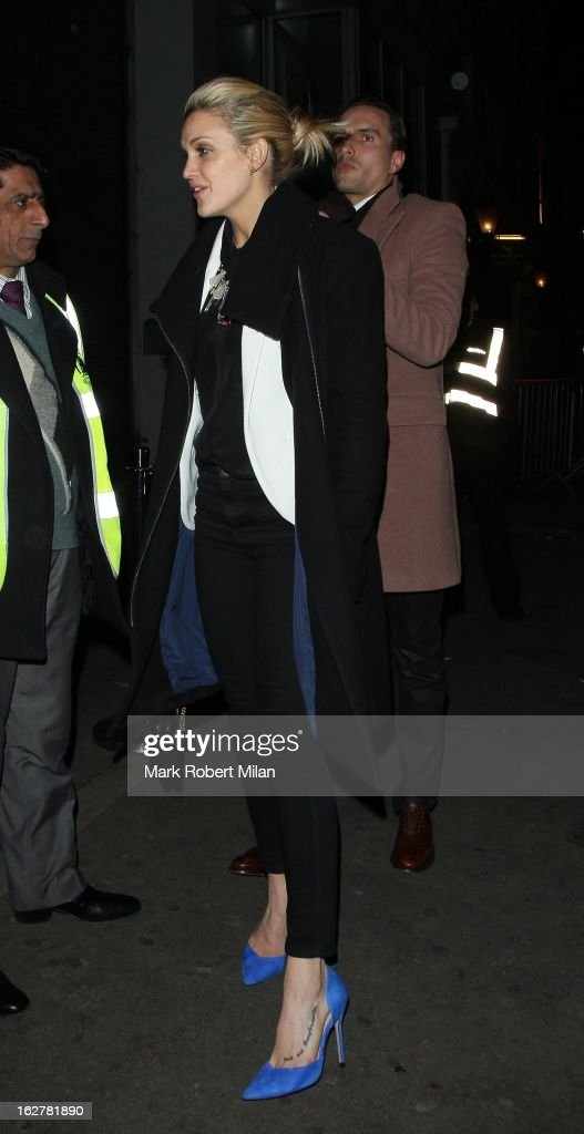 Ashley Roberts at Project night club on February 26, 2013 in London, England.