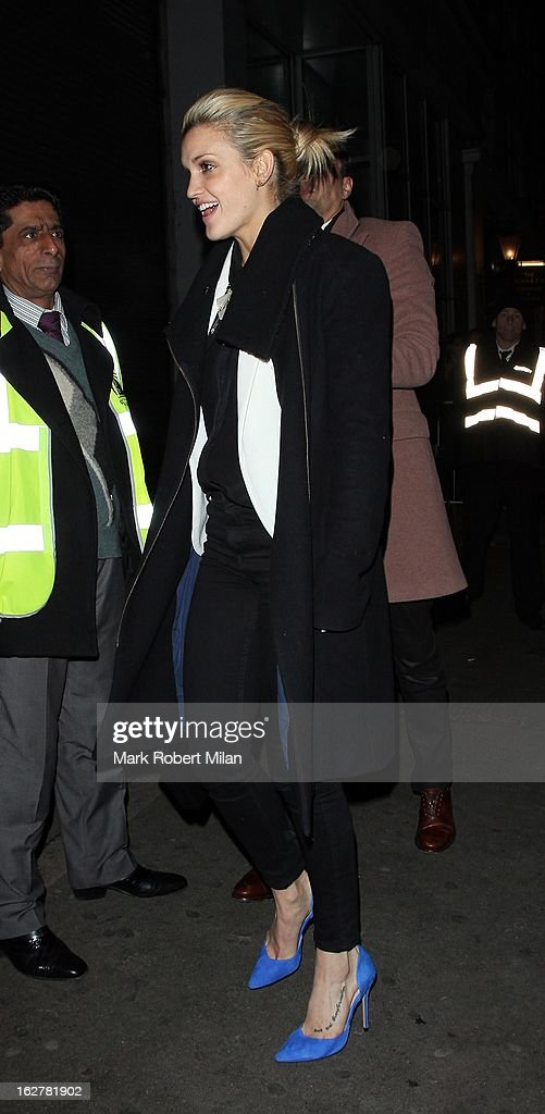 <a gi-track='captionPersonalityLinkClicked' href=/galleries/search?phrase=Ashley+Roberts&family=editorial&specificpeople=678961 ng-click='$event.stopPropagation()'>Ashley Roberts</a> at Project night club on February 26, 2013 in London, England.
