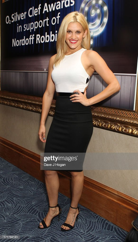 Ashley Roberts attending the Nordoff Robbins Silver Clef Awards at London Hilton on June 28, 2013 in London, England.