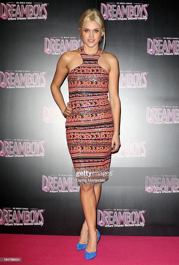 Ashley Roberts attends as the Dreamboys hold a Gala performance at Rise Supperclub on October 16 2013 in London England