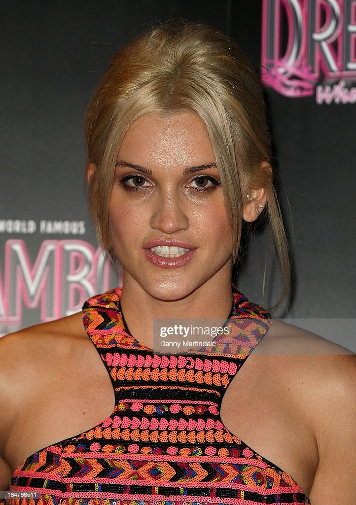 <a gi-track='captionPersonalityLinkClicked' href=/galleries/search?phrase=Ashley+Roberts&family=editorial&specificpeople=678961 ng-click='$event.stopPropagation()'>Ashley Roberts</a> attends as the Dreamboys hold a Gala performance at Rise Supperclub on October 16, 2013 in London, England.