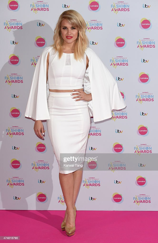 Ashley Roberts attends Lorraine's High Street Fashion Awards at Grand Connaught Rooms on May 19 2015 in London England