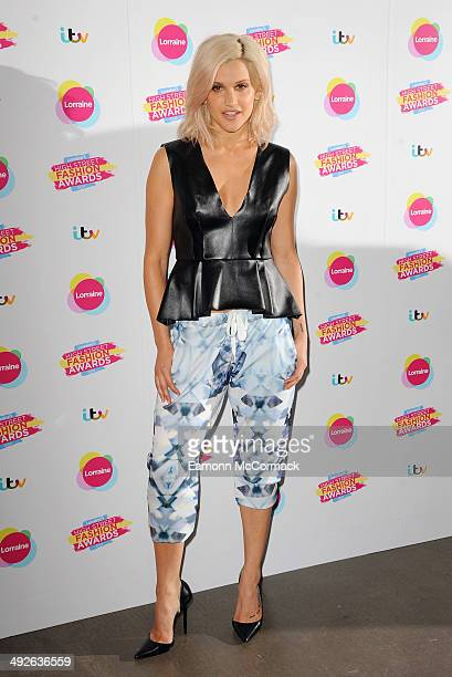 Ashley Roberts attends Lorraine's High Street Fashion Awards on May 21 2014 in London England