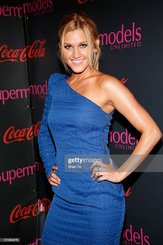 Ashley Roberts attends SuperModels Unlimited Magazine PostGrammy Celebration at Avalon on January 31 2010 in Hollywood California