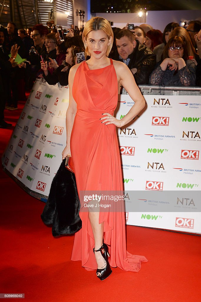 Ashley Roberts attends the 21st National Television Awards at The O2 Arena on January 20, 2016 in London, England.