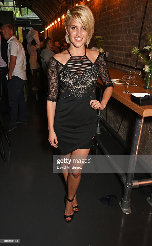 Ashley Roberts attends the Amazon Fashion Photography Studio launch party which opened on July 23 2015 in London England Guest of honour was Suki...
