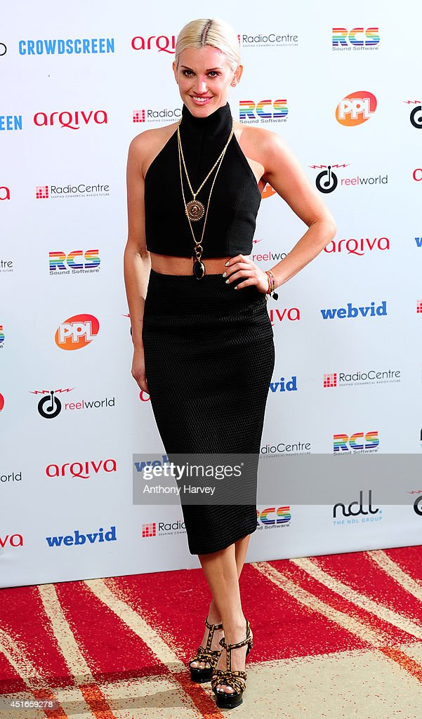 Ashley Roberts attends the Arqiva Commercial Radio Awards at Westminster Bridge Park Plaza Hotel on July 3 2014 in London England
