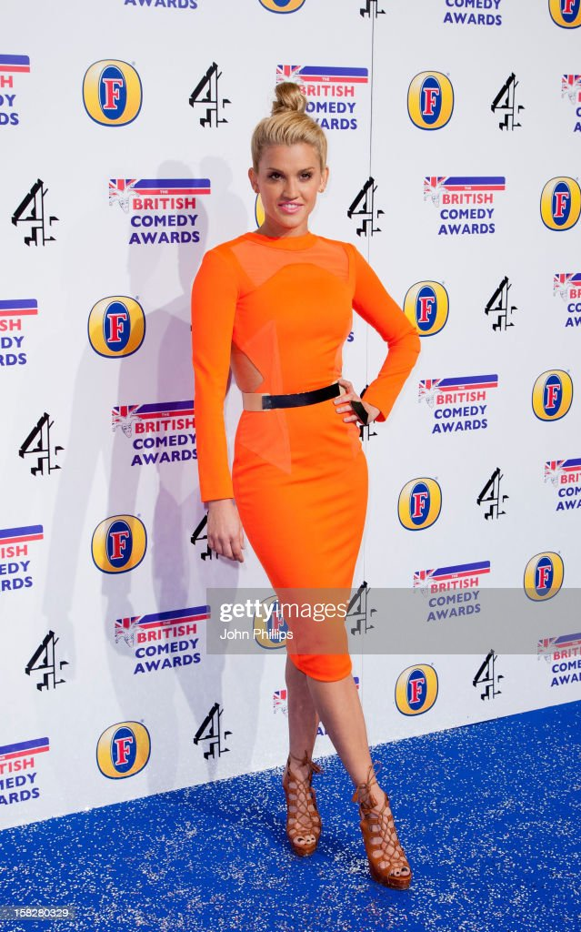 <a gi-track='captionPersonalityLinkClicked' href=/galleries/search?phrase=Ashley+Roberts&family=editorial&specificpeople=678961 ng-click='$event.stopPropagation()'>Ashley Roberts</a> attends the British Comedy Awards at Fountain Studios on December 12, 2012 in London, England.