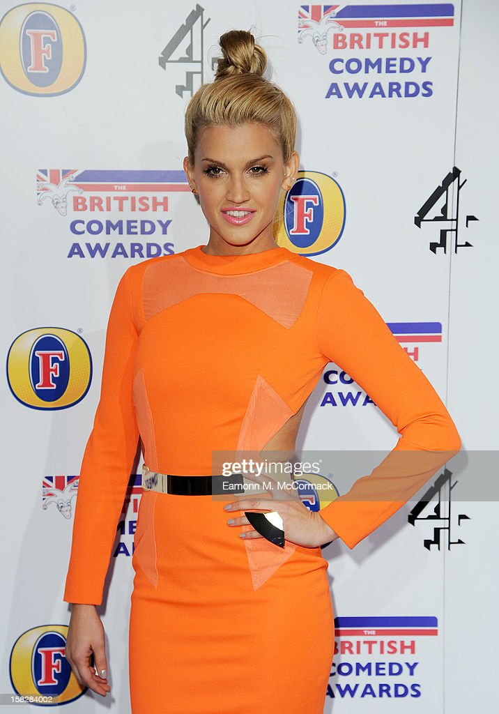 Ashley Roberts attends the British Comedy Awards at Fountain Studios on December 12, 2012 in London, England.
