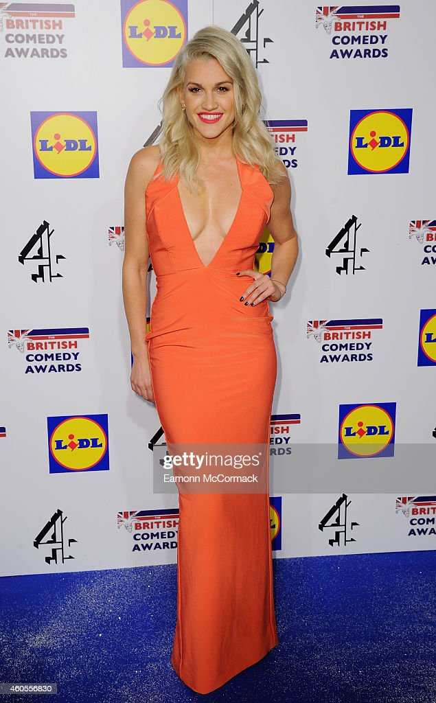 Ashley Roberts attends the British Comedy Awards at Fountain Studios on December 16 2014 in London England