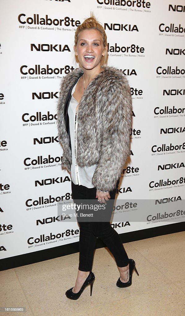 Ashley Roberts attends the Collabor8te Connected by NOKIA Premiere at Regent Street Cinema on February 12, 2013 in London, England.