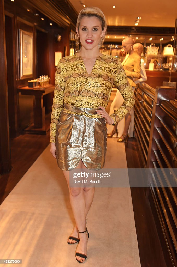 Ashley Roberts attends the launch of new book 'Front Roe How To Be The Leading Lady In Your Own Life' By Louise Roe at Ralph Lauren New Bond Street...