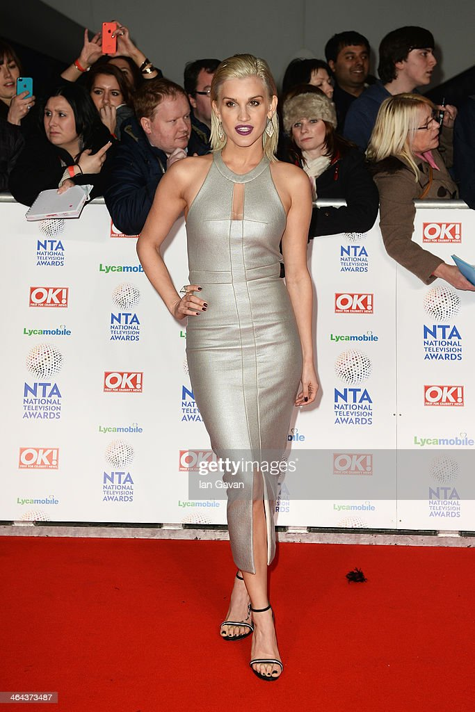 Ashley Roberts attends the National Television Awards at 02 Arena on January 22 2014 in London England