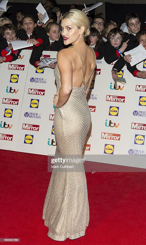 Ashley Roberts attends the Pride of Britain awards at Grosvenor House on October 7 2013 in London England