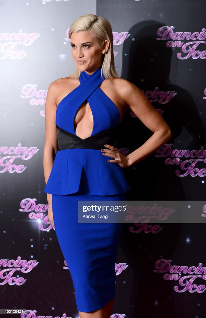 <a gi-track='captionPersonalityLinkClicked' href=/galleries/search?phrase=Ashley+Roberts&family=editorial&specificpeople=678961 ng-click='$event.stopPropagation()'>Ashley Roberts</a> attends the series launch photocall for 'Dancing on Ice' held at the London Studios on January 2, 2014 in London, England.