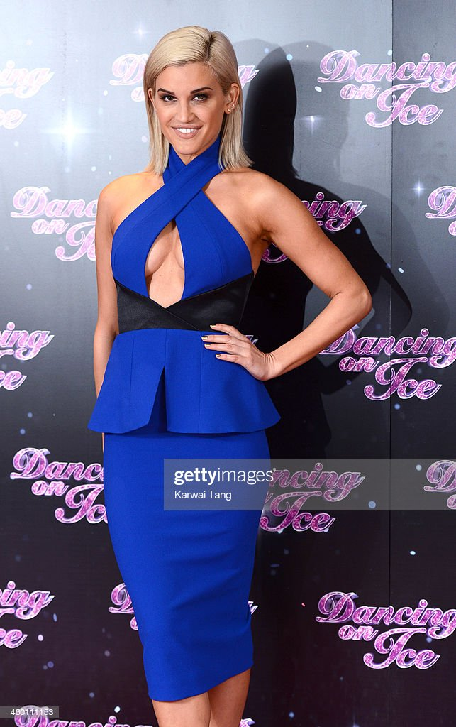 Ashley Roberts attends the series launch photocall for 'Dancing on Ice' held at the London Studios on January 2, 2014 in London, England.