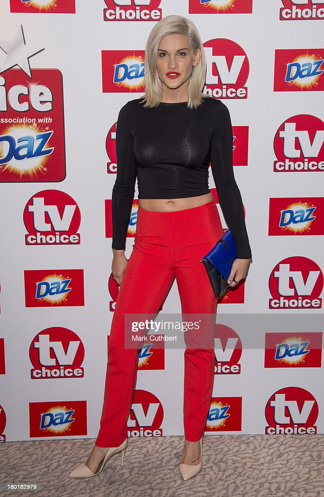 <a gi-track='captionPersonalityLinkClicked' href=/galleries/search?phrase=Ashley+Roberts&family=editorial&specificpeople=678961 ng-click='$event.stopPropagation()'>Ashley Roberts</a> attends the TV Choice Awards 2013 at The Dorchester on September 9, 2013 in London, England.