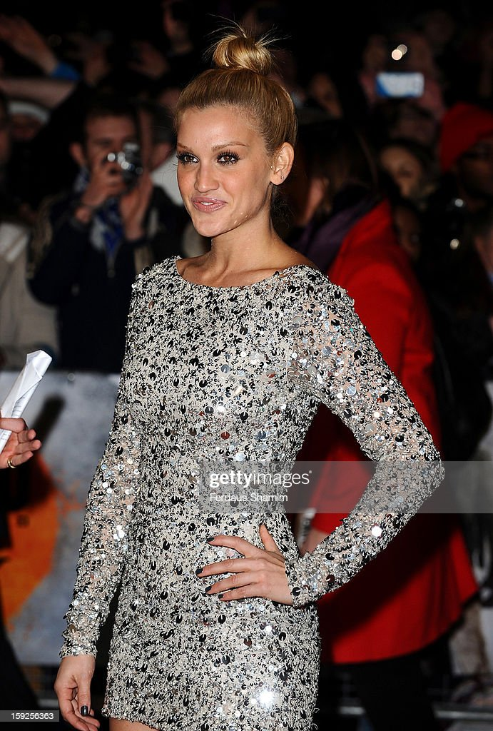 Ashley Roberts attends the UK Premiere of 'Django Unchained' at Empire Leicester Square on January 10, 2013 in London, England.