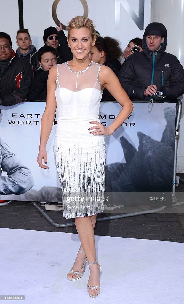 Ashley Roberts attends the UK premiere of 'Oblivion' at BFI IMAX on April 4, 2013 in London, England.