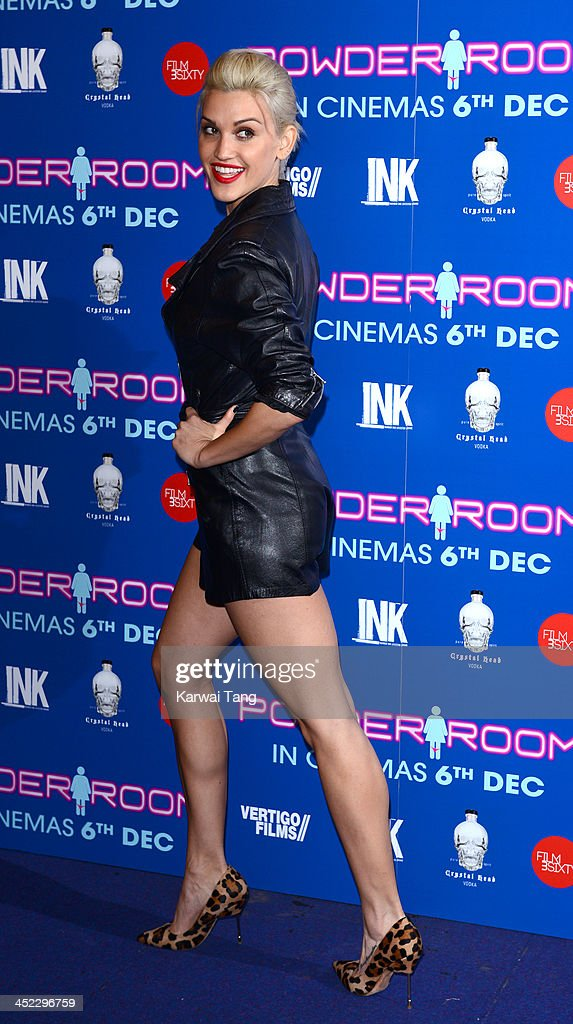 <a gi-track='captionPersonalityLinkClicked' href=/galleries/search?phrase=Ashley+Roberts&family=editorial&specificpeople=678961 ng-click='$event.stopPropagation()'>Ashley Roberts</a> attends the UK Premiere of 'Powder Room' at Cineworld Haymarket on November 27, 2013 in London, England.