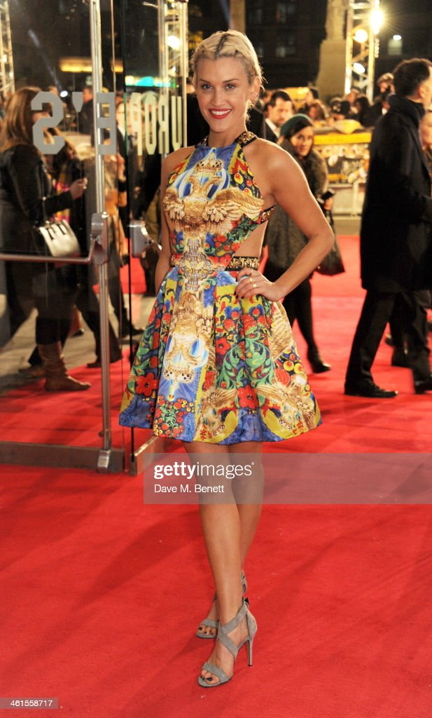 <a gi-track='captionPersonalityLinkClicked' href=/galleries/search?phrase=Ashley+Roberts&family=editorial&specificpeople=678961 ng-click='$event.stopPropagation()'>Ashley Roberts</a> attends the UK Premiere of 'The Wolf Of Wall Street' at Odeon Leicester Square on January 9, 2014 in London, England.