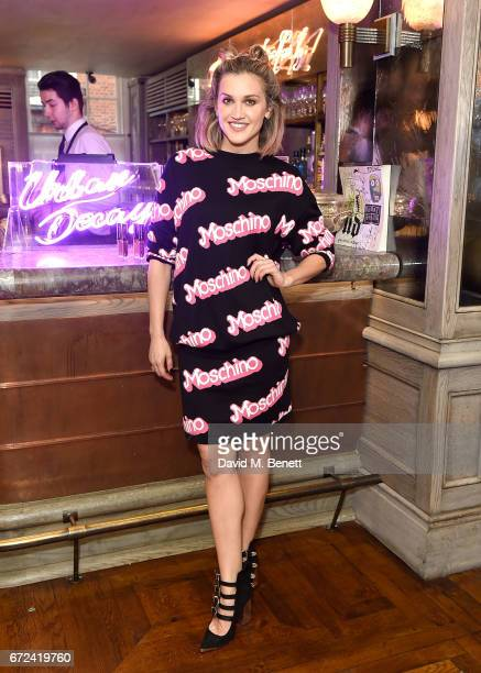 Ashley Roberts attends the VIP dinner to celebrate Urban Decay's arrival at Selfridges London on April 24 2017 in London England