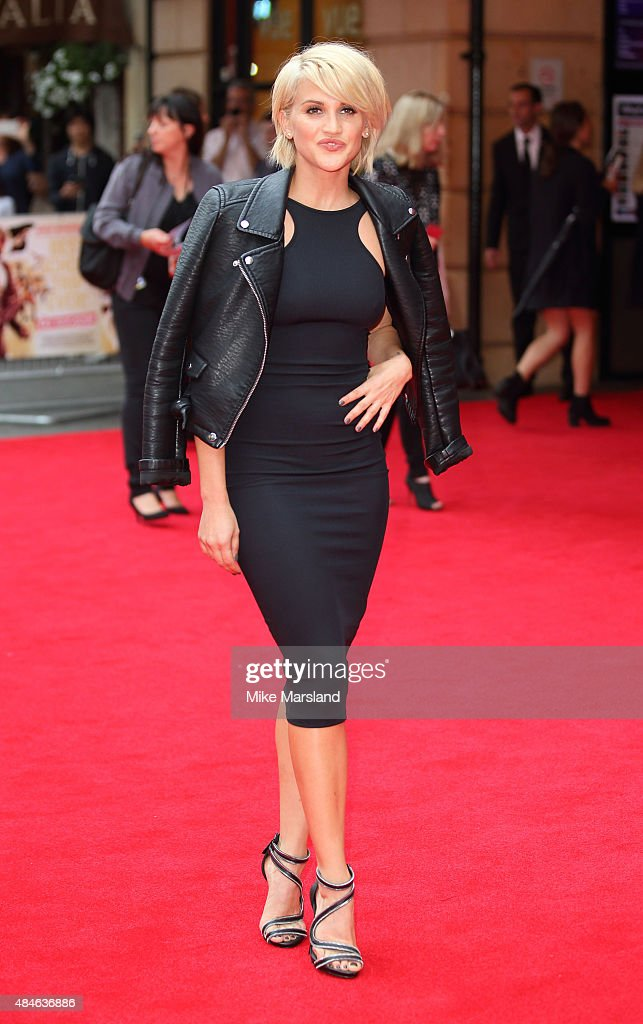 Ashley Roberts attends the World Premiere of 'The Bad Education Movie' at Vue West End on August 20 2015 in London England