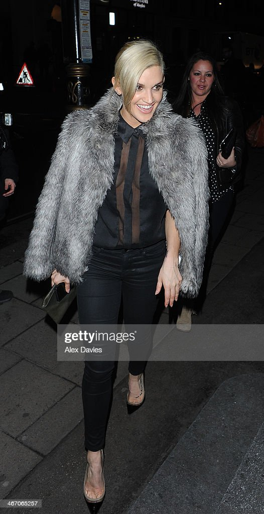 <a gi-track='captionPersonalityLinkClicked' href=/galleries/search?phrase=Ashley+Roberts&family=editorial&specificpeople=678961 ng-click='$event.stopPropagation()'>Ashley Roberts</a> seen leaving Mahiki Nightclub on February 5, 2014 in London, England.