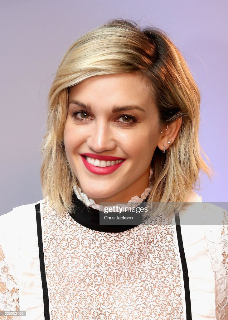 Ashley Roberts speaks on stage as she joins BUILD for a live interview at their London studio at AOL London on February 13, 2017 in London, England.