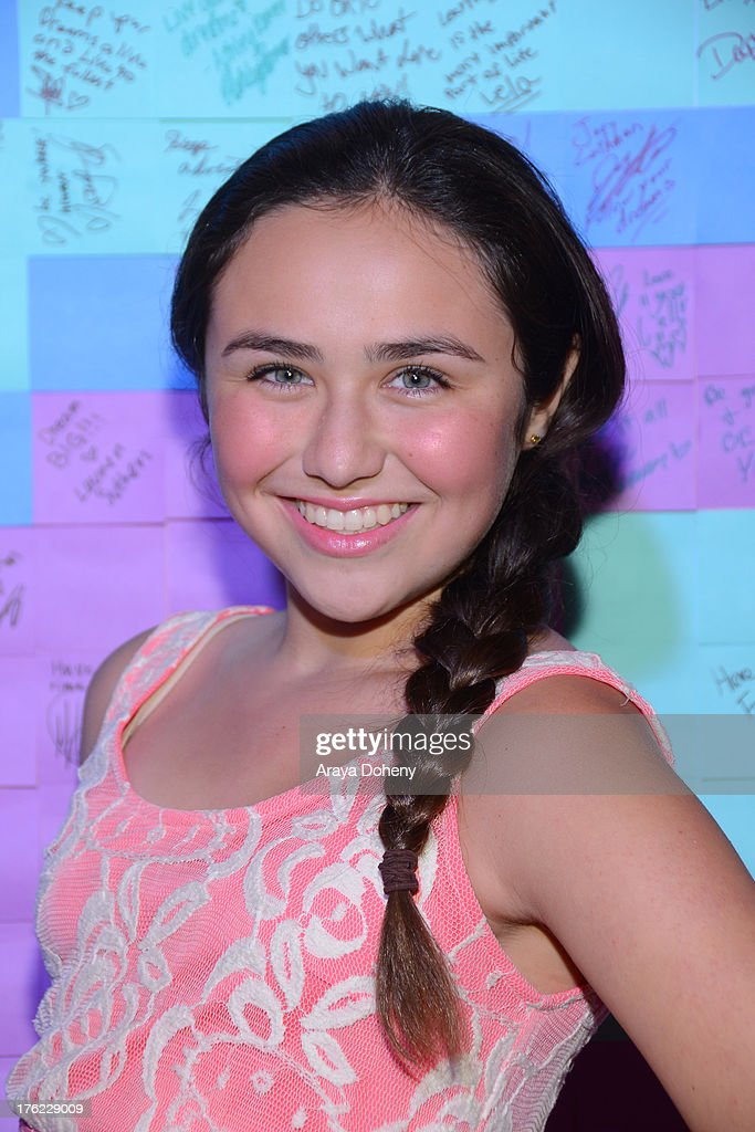 Ashley Romeo attends Teen Choice Awards After 'Party' For A Cause Hosted by Boys & Girls Clubs of America and Staples at Saddle Ranch on August 11, 2013 in Universal City, California.