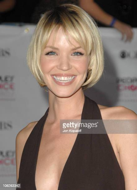 Ashley Scott during 33rd Annual People's Choice Awards Arrivals at Shrine Auditorium in Los Angeles California United States