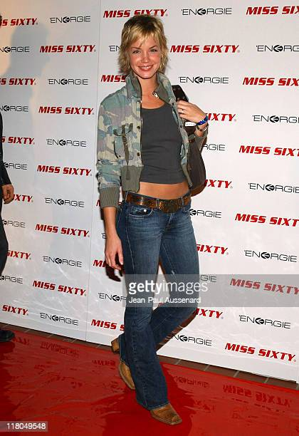 Ashley Scott during Miss Sixty Energie Los Angeles Store Opening Arrivals at Miss Sixty Store in West Hollywood California United States