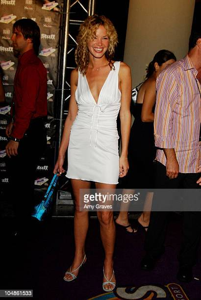 Ashley Scott during Stuff Magazine Palms Casino Weekend After Party At Skin at Skin in Las Vegas Nevada United States