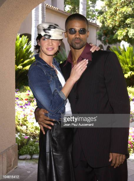 Ashley Scott Shemar Moore during The WB Network's 2002 Summer Press Tour at Ritz Carlton Hotel in Pasadena California United States