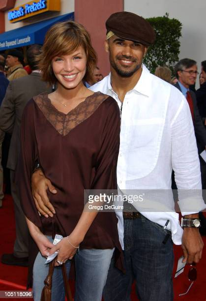 Ashley Scott Shemar Moore during The World Premiere Of '2 Fast 2 Furious' Arrivals at Universal Amphitheatre in Universal City California United...