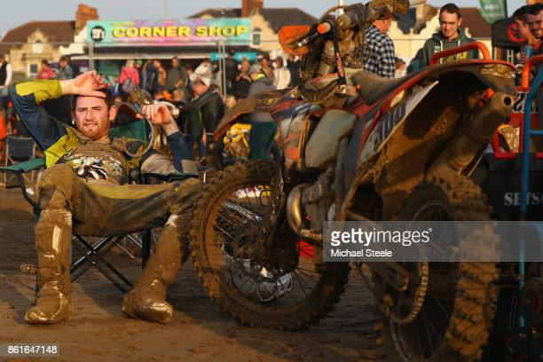 Ashley Shepherd poses for a portrait following the Adult Solo Race during day two of the HydroGarden Weston Beach Race on October 15 2017 in...