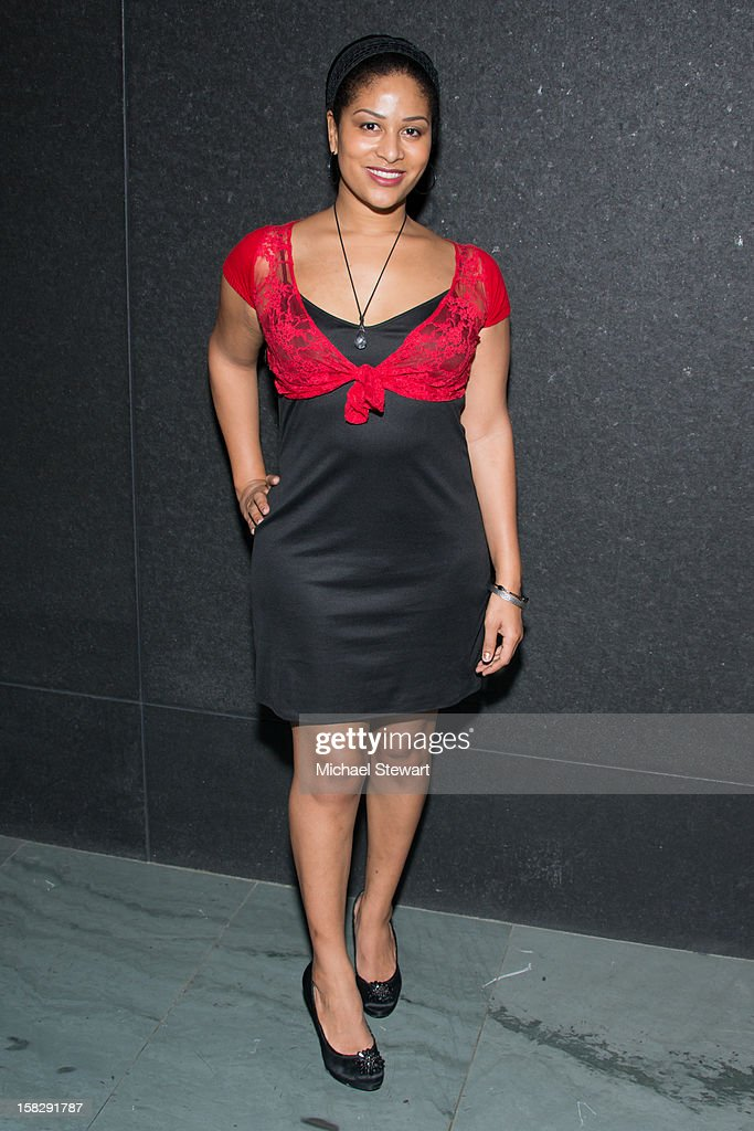 Ashley Sousa attends The Museum of Modern Art's Jazz Interlude Gala after party at Museum of Modern Art on December 12, 2012 in New York City.