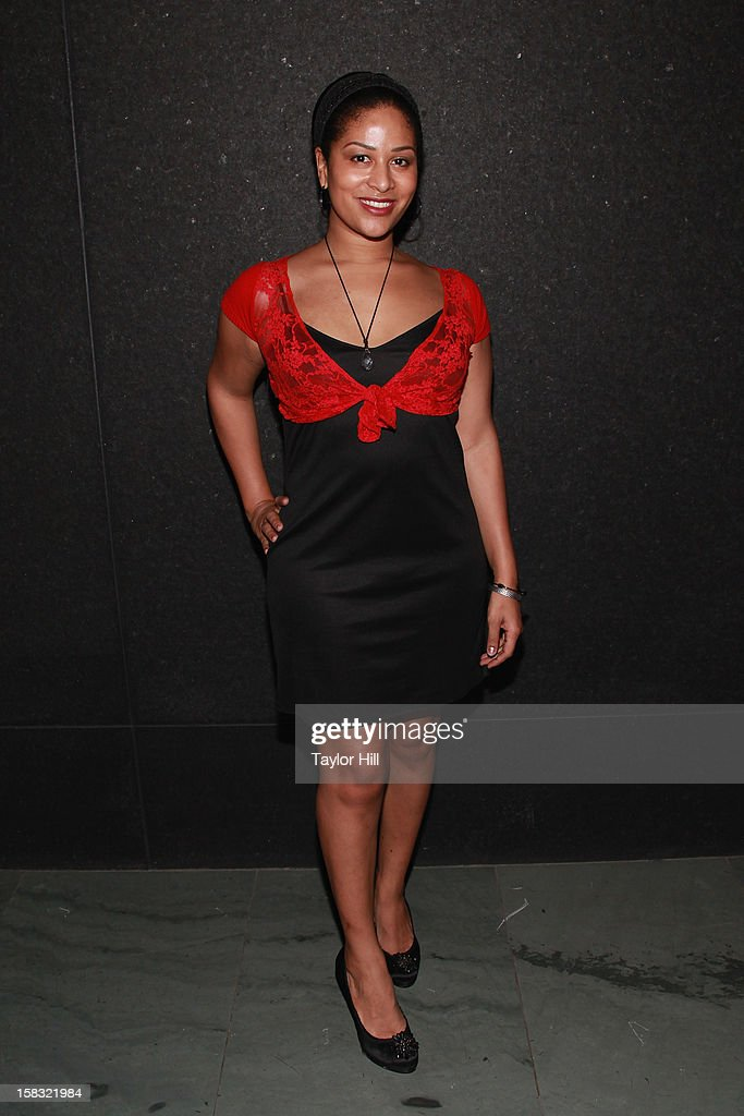 Ashley Sousa attends The Museum of Modern Art's Jazz Interlude Gala After Party at MOMA on December 12, 2012 in New York City.