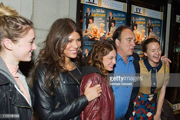 Ashley Stanton Dawn Dunning of Bambi Killers Meghan Miller of Bambi Killers actor James Belushi and actress Tanya Fischer attend the Creative...