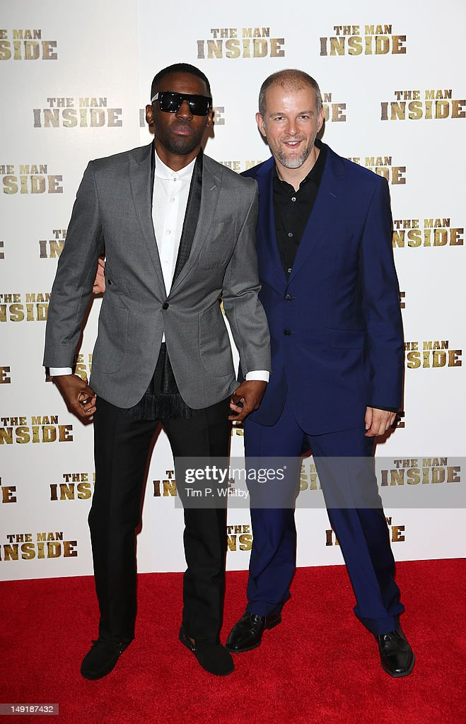 Ashley Thomas and Dan Turner attend the premiere of 'The Man Inside' at Vue Leicester Square on July 24, 2012 in London, England.