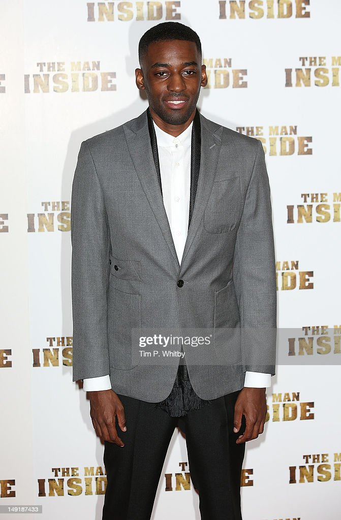 Ashley Thomas attends the premiere of 'The Man Inside' at Vue Leicester Square on July 24, 2012 in London, England.