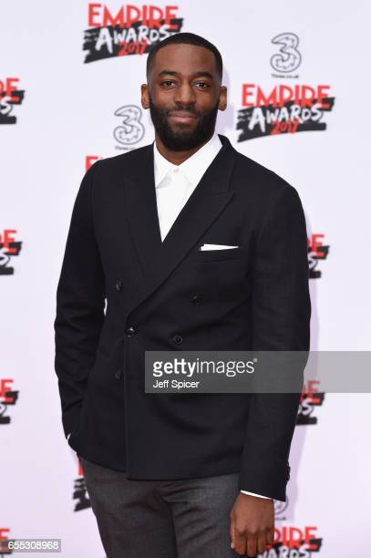 Ashley Thomas attends the THREE Empire awards at The Roundhouse on March 19 2017 in London England