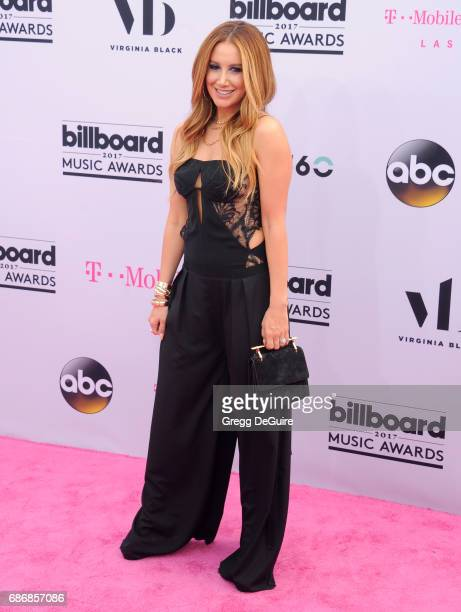 Ashley Tisdale arrives at the 2017 Billboard Music Awards at TMobile Arena on May 21 2017 in Las Vegas Nevada