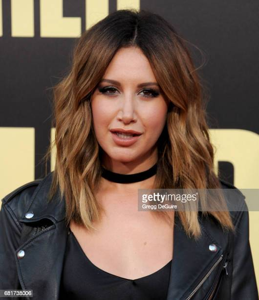 Ashley Tisdale arrives at the premiere of 20th Century Fox's 'Snatched' at Regency Village Theatre on May 10 2017 in Westwood California