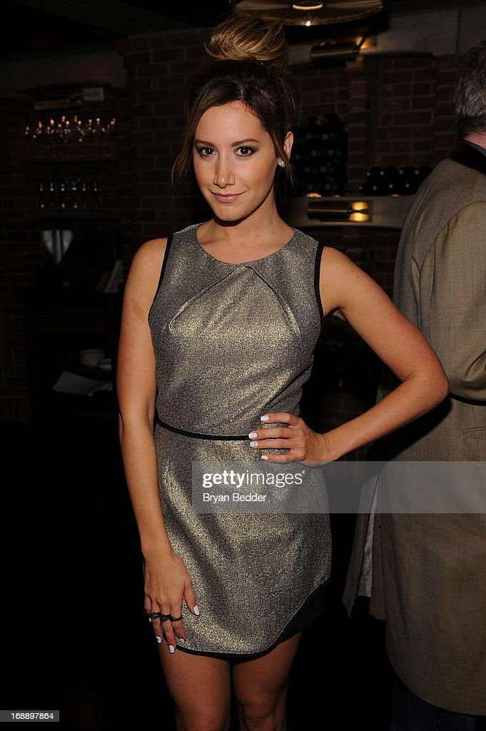 <a gi-track='captionPersonalityLinkClicked' href=/galleries/search?phrase=Ashley+Tisdale&family=editorial&specificpeople=213972 ng-click='$event.stopPropagation()'>Ashley Tisdale</a> attends the 2013 CAA Upfronts Party on May 14, 2013 in New York City.