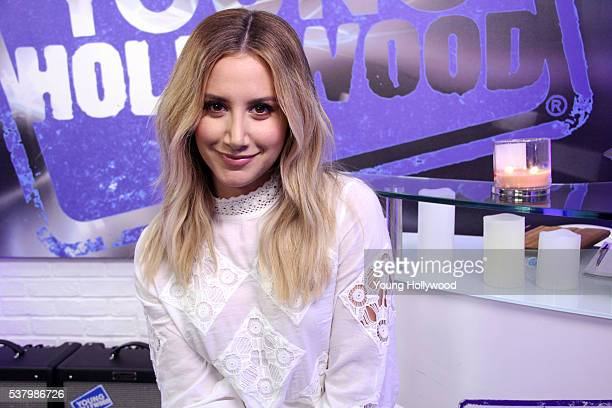 Ashley Tisdale visits the Young Hollywood Studio on June 2 2016 in Los Angeles California