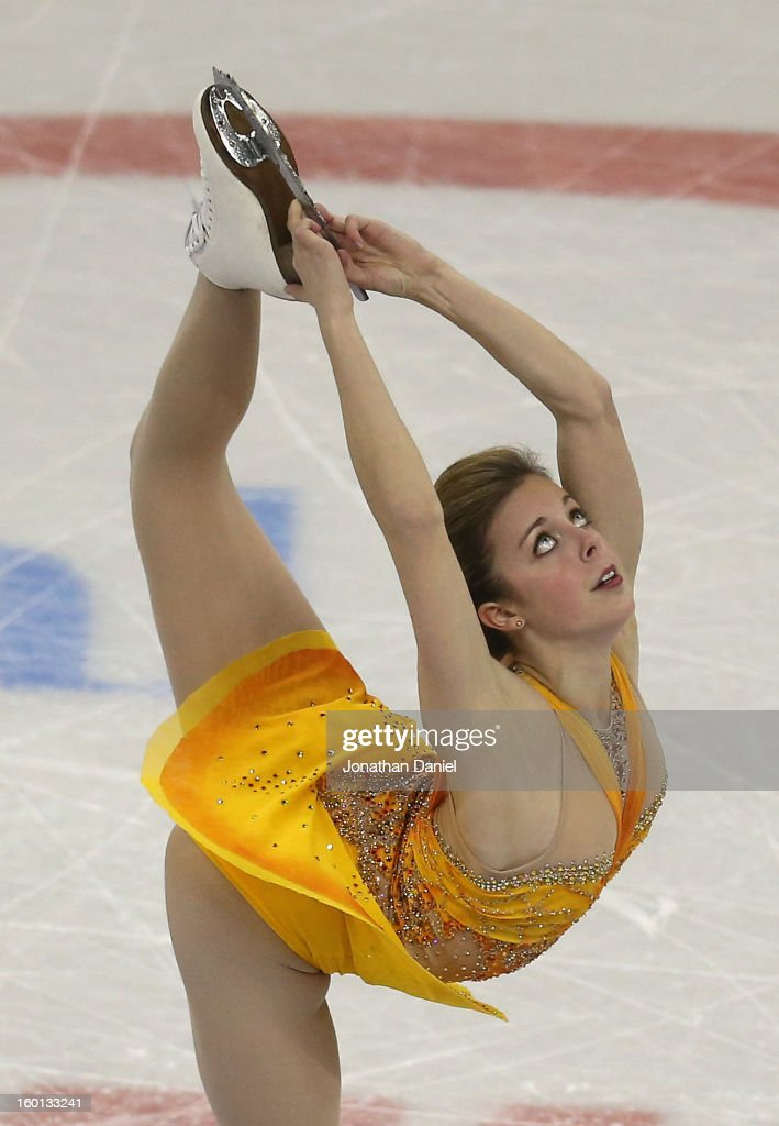 <a gi-track='captionPersonalityLinkClicked' href=/galleries/search?phrase=Ashley+Wagner&family=editorial&specificpeople=2564533 ng-click='$event.stopPropagation()'>Ashley Wagner</a> competes in the Ladies Free Skate during the 2013 Prudential U.S. Figure Skating Championships at CenturyLink Center on January 26, 2013 in Omaha, Nebraska.