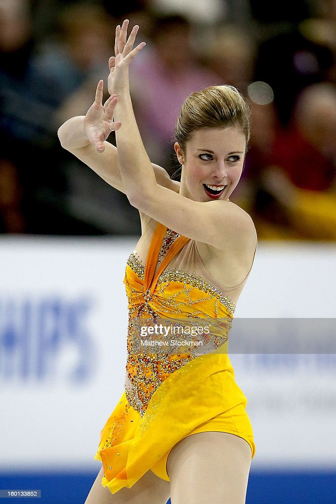 Ashley Wagner competes in the Ladies Free Skate during the 2013 Prudential U.S. Figure Skating Championships at CenturyLink Center on January 26, 2013 in Omaha, Nebraska.